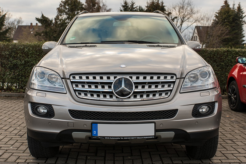 Rhein-Ruhr-Stammtisch im Februar 2019, Mercedes ML, Winterauto von Gregor ('leopold456')