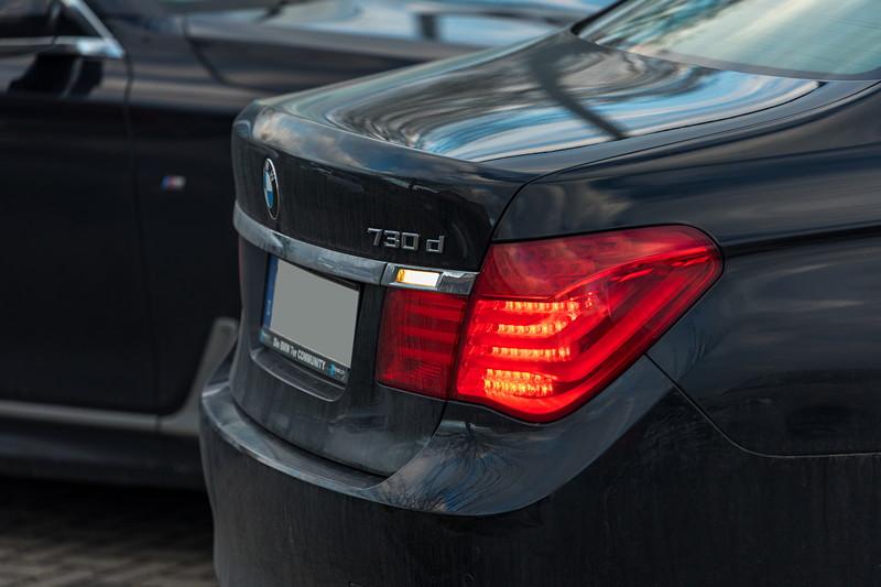 Rhein-Ruhr-Stammtisch im Februar 2019, BMW 730d (F01) von Dirk ('Dixe')