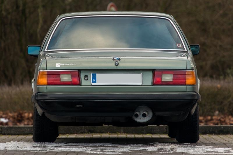 Rhein-Ruhr-Stammtisch im Februar 2019, BMW 732iA (E23) von Viktor ('Zuwack')