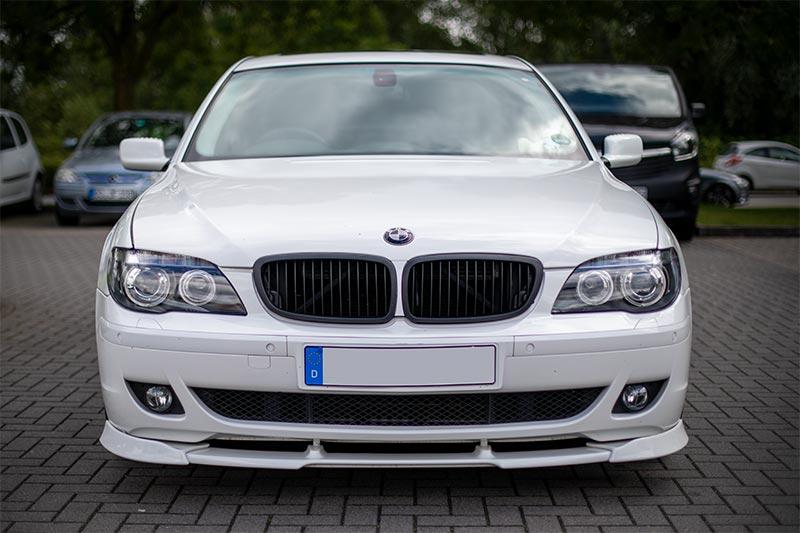 Rhein-Ruhr-Stammtisch im Juli 2020: BMW 750i (E65 LCI, Rechtslenker) von Olaf ('loewe40')