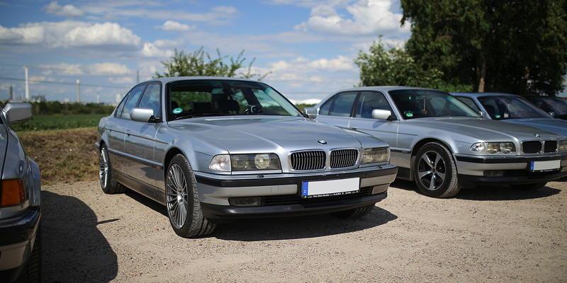 BMW 7er Stammtisch Halle-Leipzig im Juli 2020: BMW 728i (E38) von Joe ('phaenomenon')