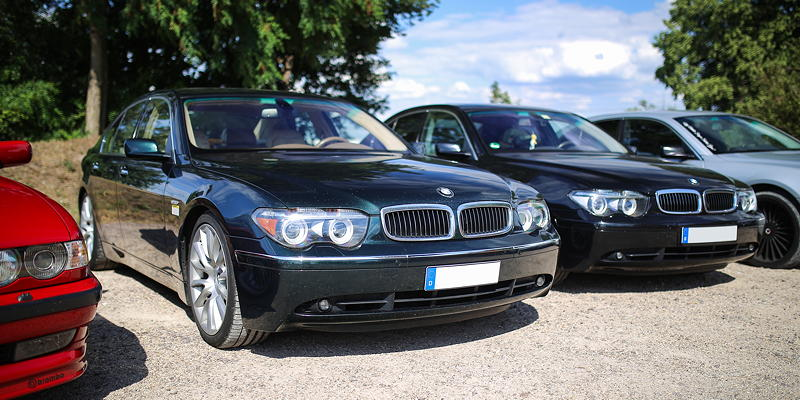 BMW 7er Stammtisch Halle-Leipzig im Juli 2020: BMW 735i (E65) von Chris ('750li')