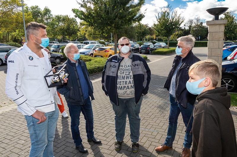 Rhein-Ruhr-Stammtisch im Oktober 2020: Teilnehmer am Stammtisch-Restaurant Café del Sol in Castrop-Rauxel.