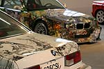 BMW 635 CSi und BMW 3er Art Car in der AUTO-NOM-MOBILE Kassel