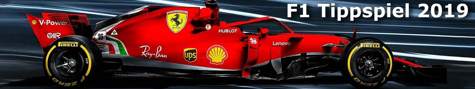 Formel 1 Tippspiel 2019