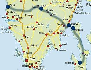 Istrien Karte Rabac.Top 10 Punto Medio Noticias Kroatien Karte Istrien Porec