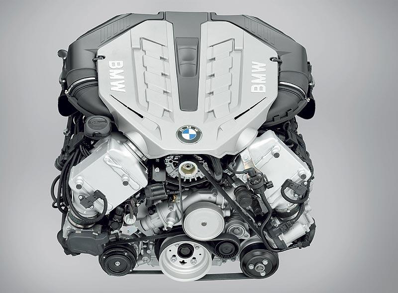 Foto: BMW V8-Motor, bekannt aus dem BMW X6 (vergrößert)