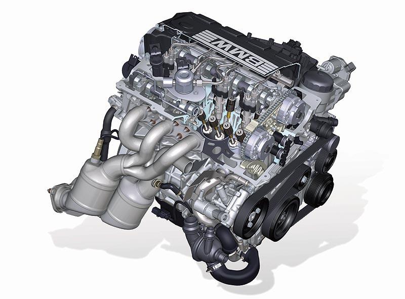 Foto 4 Zylinder Motor Schnitt N43 Vergr 246 223 Ert