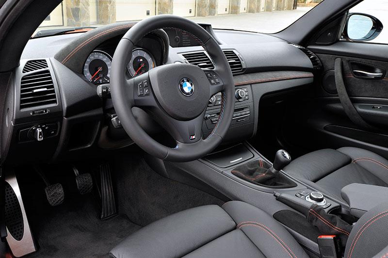 Foto: BMW 1er M Coupe, Interieur (vergrößert)