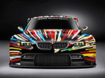 Jeff Koons 17. BMW Art Car, 2010 (BMW M3 GT2)