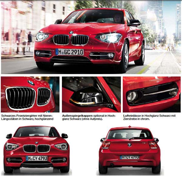 BMW 1er (F20) Ausstattung und Zubehör: Premium-Charakter ...