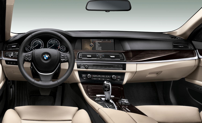 Foto: BMW ActiveHybrid 5, Interieur vorne (vergrößert)