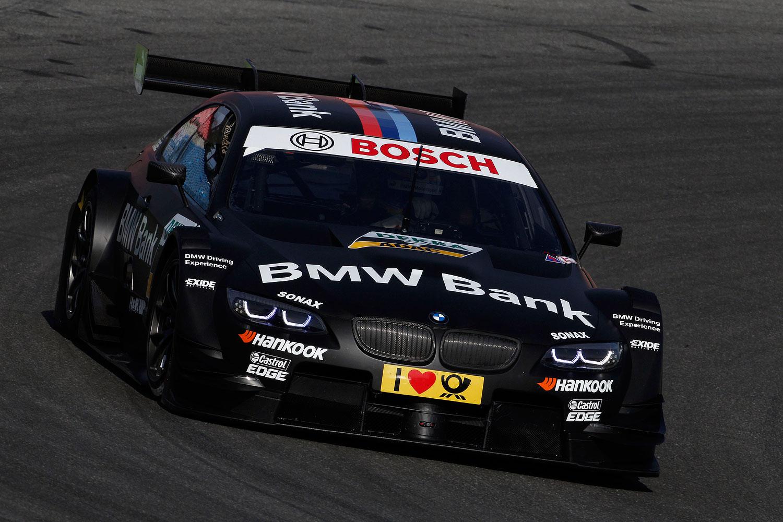Foto Hockenheim 2 April 2012 Bmw Motorsport Bmw M3 Dtm Test Bmw Bank M3 Dtm Vergrößert
