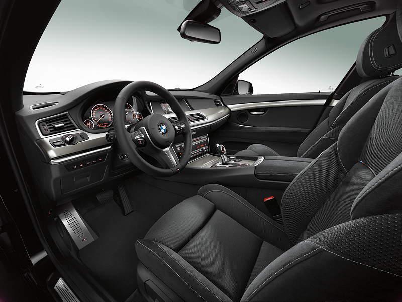 Foto: BMW 5er Touring, M Sport Paket, Facelift 2013, Interieur ...