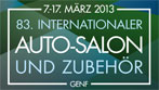 83. Internationaler Auto-Salon, Genf 2013