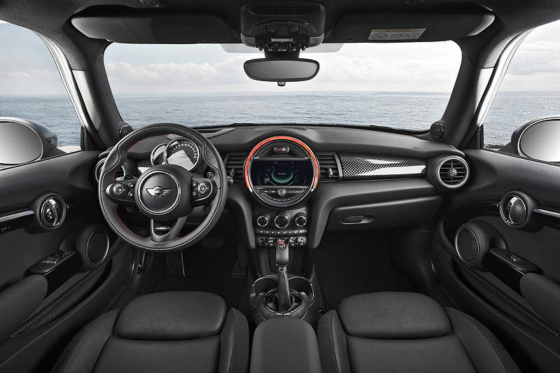 foto mini cooper s interieur vergrert