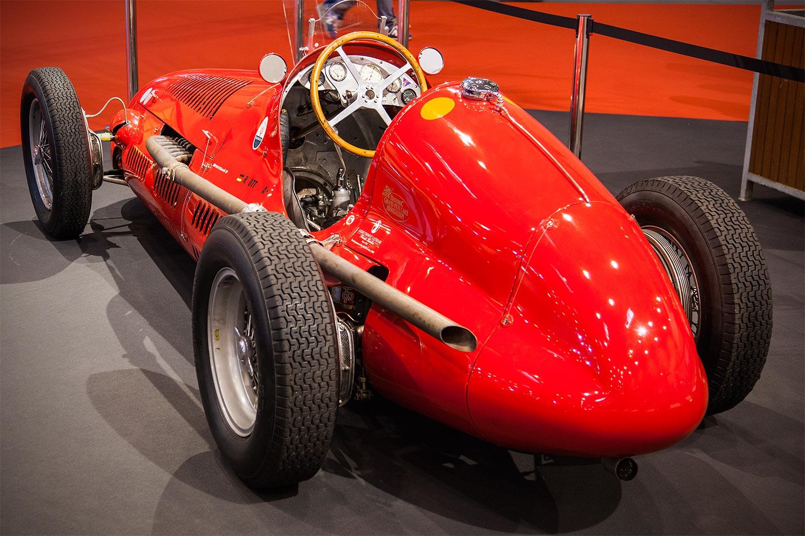 Foto Maserati 4clt 1950 War Beim Ersten F1 Rennen überhaupt Im