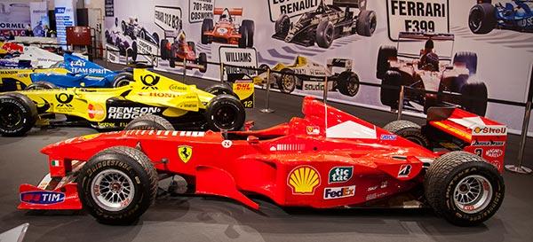 Essen Motor Show 2015 65 Jahre Formel 1 Wm