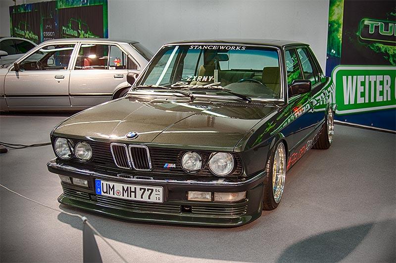 Foto Bmw 528i E28 Ausgestellt In Der Tuningxperience Essen