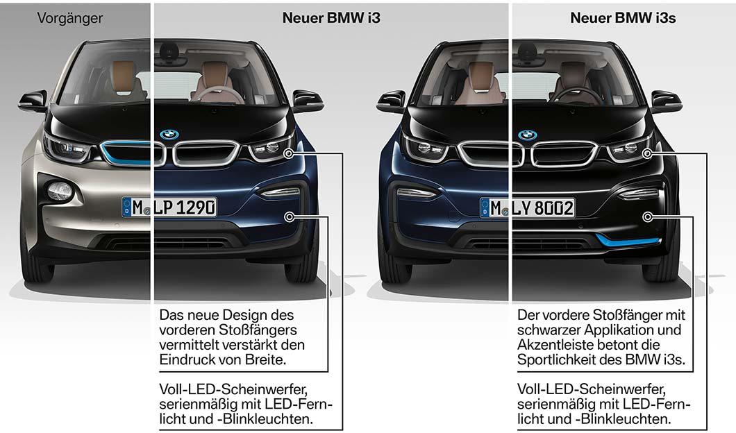 Der Neue Bmw I3 Der Neue Bmw I3s Facelift 2017 Highlights