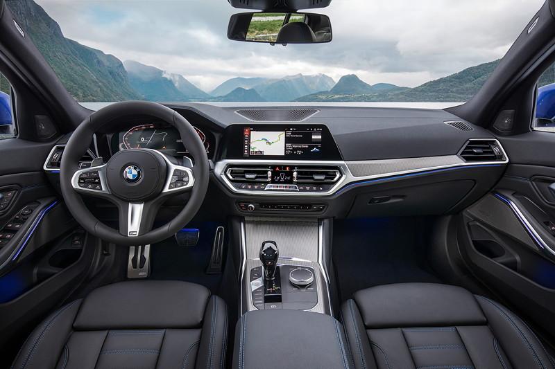 Foto: BMW 3er Limousine - Modell M Sport, Interieur (vergrößert)