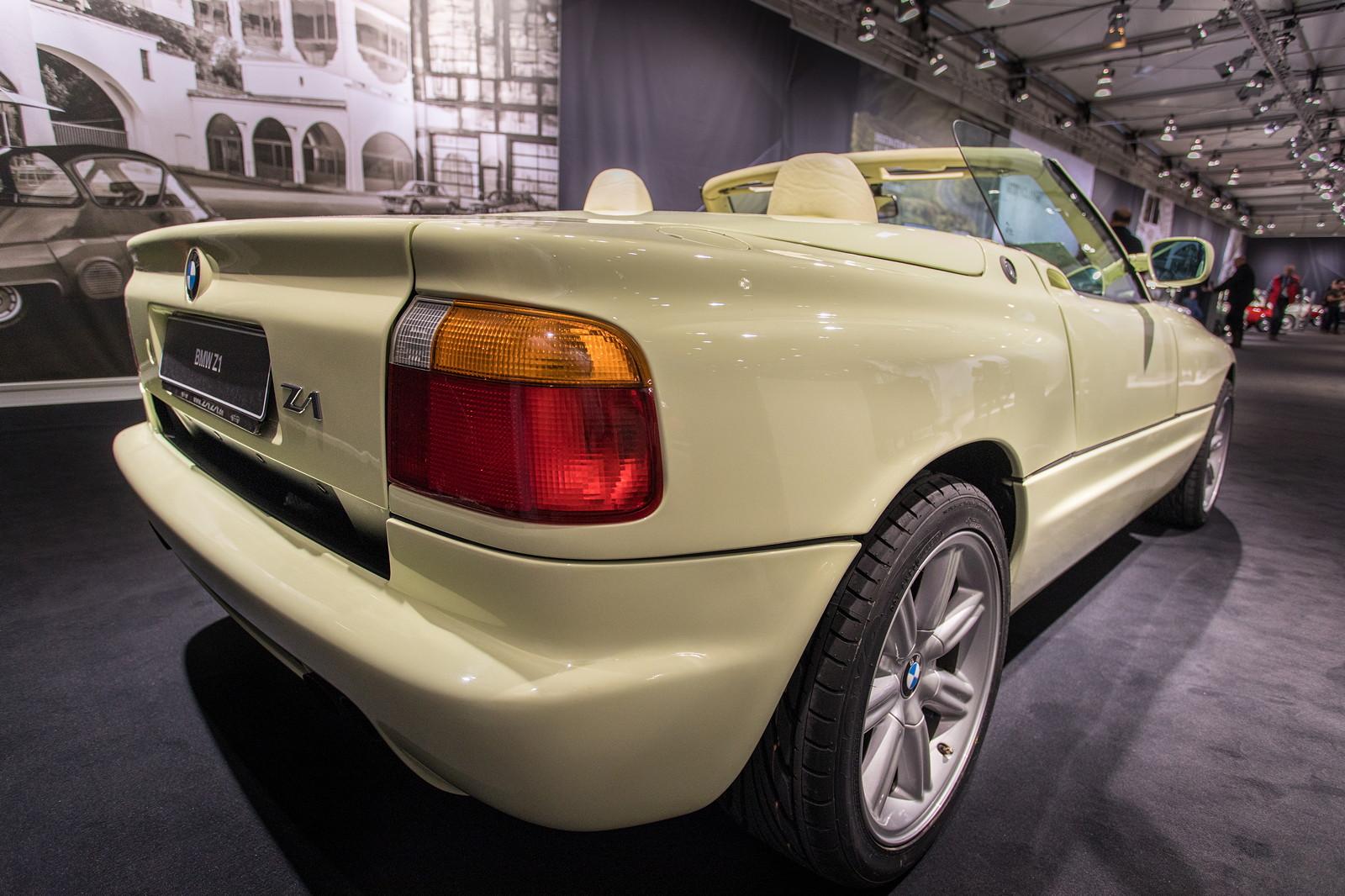 Foto: BMW Z1 mit selbsttragendem Rahmengerüst bzw. Monocoque, um ...