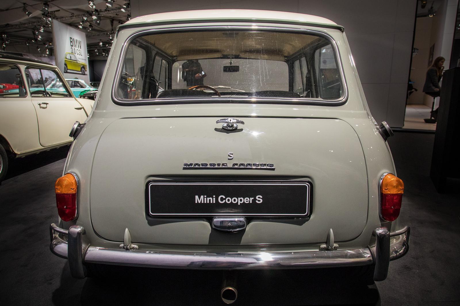 Foto Morris Mini Cooper S 1275 Lackiert In Tweed Grey Dach In