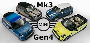 Der MINI Hatch, MINI 5-Türer und MINI Cabrio, 4. Generation, 2. Facelift