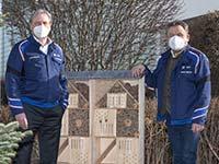 Biodiversität: BMW Group Werk Landshut schafft neue ökologische Lebensräume für eine reiche Flora und Fauna.