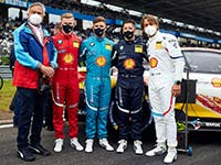 """GT3-Premiere bei den 24h Nürburgring: BMW Junior Team hat trotz Ausfalls """"Meisterprüfung bestanden""""."""