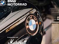 BMW Motorrad und Marshall vereinbaren strategische Zusammenarbeit.