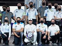 Nach dem Sieg im Samstagslauf: BMW i Andretti Motorsport sammelt in London mit beiden Fahrern Punkte