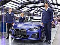 BMW Group Werk München wird vollelektrisch - Produktionsstart des vollelektrischen BMW i4.