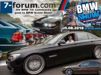7-forum.com geos BMW Scene Show 2018: Forumstreffen in Recklinghausen.