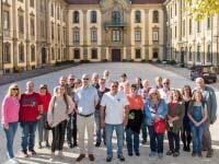100. BMW-Schwaben-Stammtisch: Ausflug zum Schloss Schillingsfürst