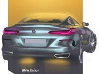 Das neue BMW 8er Coupé: Fahrzeugkonzept und Design. Ein Sportwagen mit Leidenschaft und Charakter.