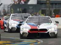Starke Pace bleibt unbelohnt: BMW M8 GTE fährt bei Le-Mans-Premiere auf den zwölften Platz.
