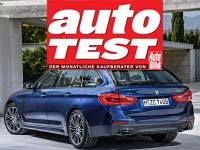 AUTO TEST Sieger 2018: Doppelerfolg für den BMW 5er Touring