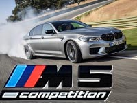BMW M5 Competition - Galerie on location in Ascari