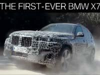 Der neue BMW X7 im Härtetest unter Extrembedingungen.