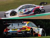 Marco Wittmann und Philipp Eng holen für BMW M Motorsport beim DTM-Sonntagslauf in Brands Hatch Punkte.