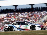 Marco Wittmann steht zum Saisonabschluss für BMW auf dem Podium.
