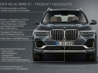 Der erste BMW X7 - alle Highlights im Überblick