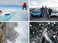 BMW Outdoor-Botschafter Stefan Glowacz vollendet seine jüngste Expedition mit einer Fahrt im BMW i3.