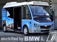 BMW i bringt Elektromobilität auch im öffentlichen Personennahverkehr voran.