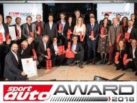 """Acht Klassensiege: BMW ist erfolgreichster Hersteller beim """"sport auto Award"""" 2018."""