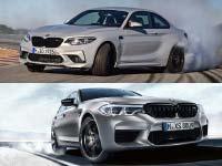 """Doppelsieg für BMW M Automobile bei der Leserwahl von """"Auto Bild Sportscars"""" 2018."""