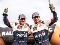 Fünf MINI John Cooper Works Rally starten bei der Rallye Dakar 2019.