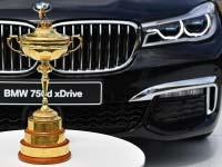 """BMW wird """"Worldwide Partner"""" des Ryder Cup."""