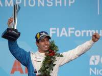 Antonio Felix da Costa fährt für BMW i Andretti Motorsport in Mexico City als Zweiter auf das Podium